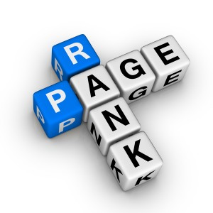 Google page rank for web sites.