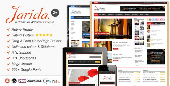 Jarida premium web template