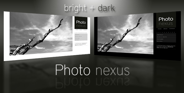 Photo nexus creative and portfolio web template