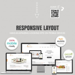 U-design responsive - website theme and design template