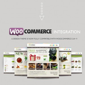 U-design woo commerce - website theme and design template