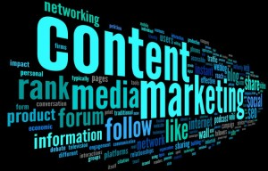 Web content and online marketing strategy.
