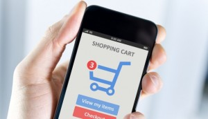 Online shopping cart and website marketing.