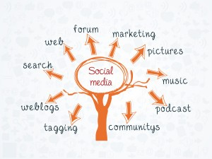 Growing website traffic with social media marketing channels.