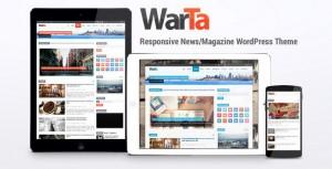 Warta responsive wordpress template.