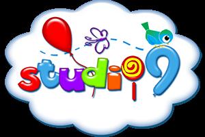 Kids studio9 logo design