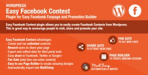 Social media contests and customer marketing.