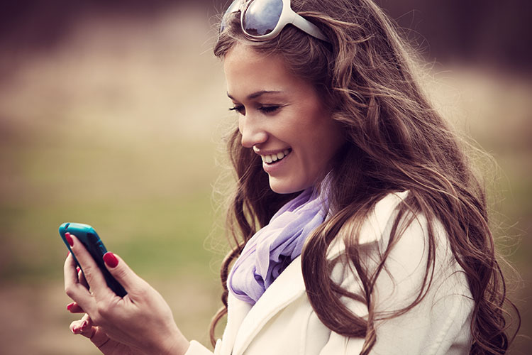 Mobile web access and online trends.
