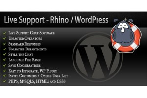 Rhino helpdesk software for wordpress.