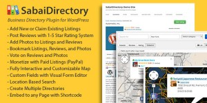 Sabai Directory for wordpress.