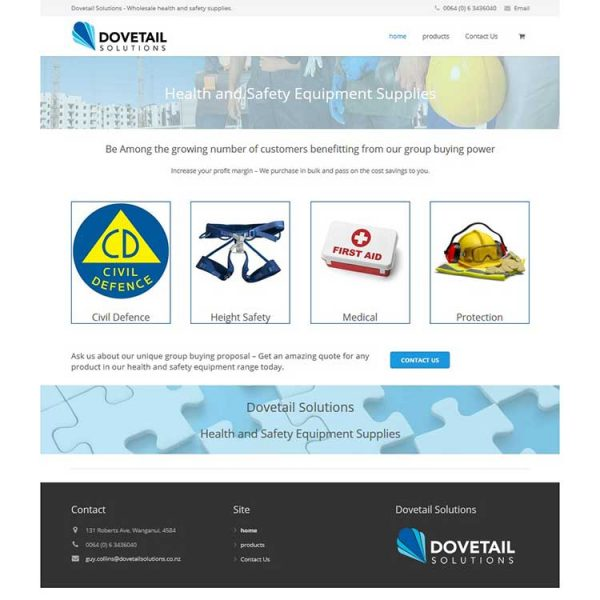 Health and safety, Our portfolio of web designs.
