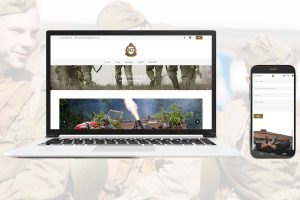 Trade in military website design